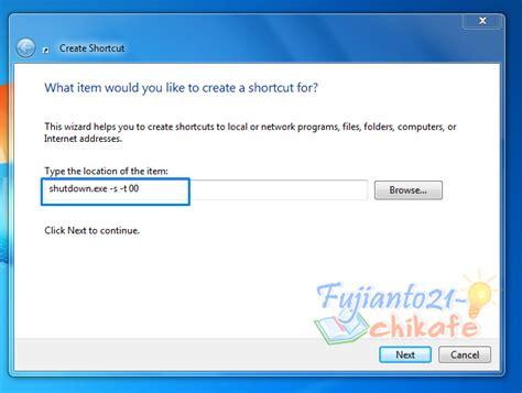 cara membuat film pendek di komputer cara membuat shorcut shutdown sendiri di komputer