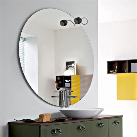 specchi da bagno specchio rotondo da bagno obl 242 arredaclick