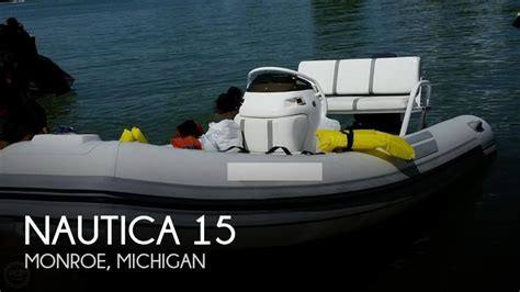 boats for sale in monroe michigan sold nautica 15 boat in monroe mi 116612