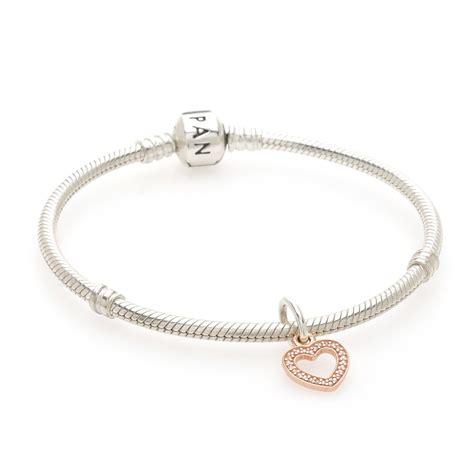 Pendant Bracelet pandora gold symbol of pendant charm 791357cz