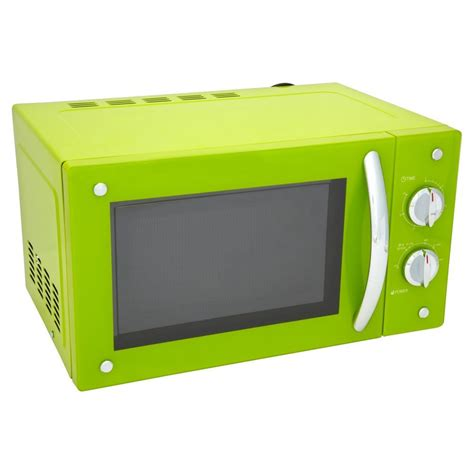 colorful microwaves wilko microwave lime green 20l microwaves kitchen