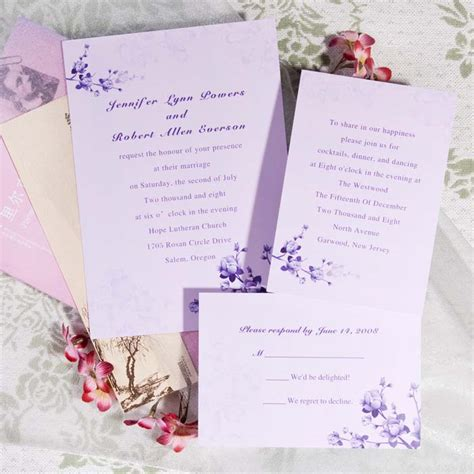 printable wedding invitation lavender lavender inspired wedding color ideas and wedding
