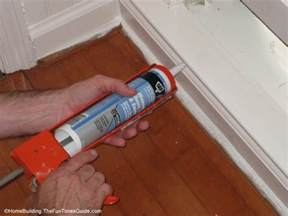 Beadboard Paintable Wallpaper - how to use acrylic latex caulk the homebuilding remodel guide