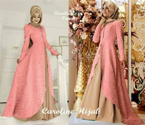 pin maxi dress muslimah on