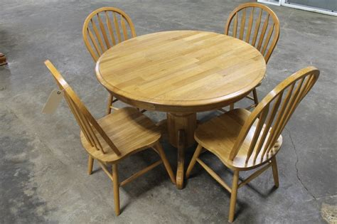 Circular Wooden Kitchen Table Wooden Drop Leaf Kitchen Table With 4