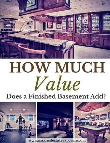 how much will a finished basement increase my h