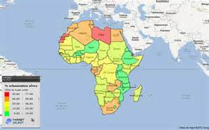World Map 1980 by Africa Map Of Urbanisation Africa 1980 By Country