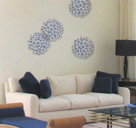 Allium Grande Wall Art Stencil Floral Wall Stencils For Diy Home Improvement Ebay Artist S Wall Mural Template And Price Sheet
