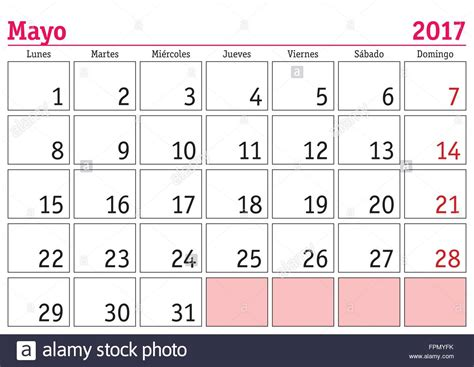 printable calendar in spanish 2017 may 2017 calendar in spanish printable calendar 2018 2019