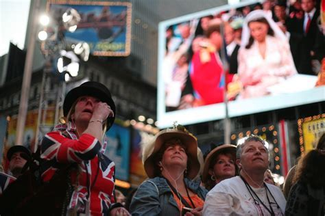 In Royal Wedding TV Coverage, British and Americans Differ