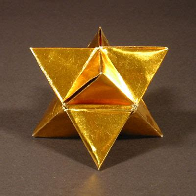 Stellated Icosahedron Origami - zing origami polyhedra and tessellations