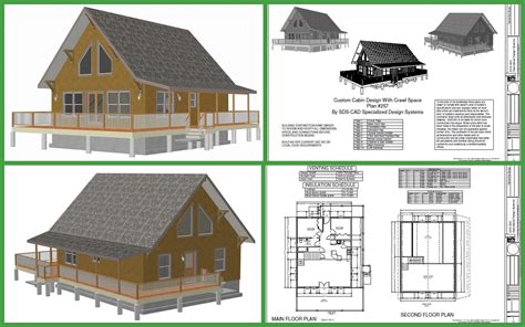 Cabin Plans by Cabin Plans And Designs