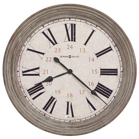 brown wall clocks contemporary contemporary textured brown oversized time wall clock