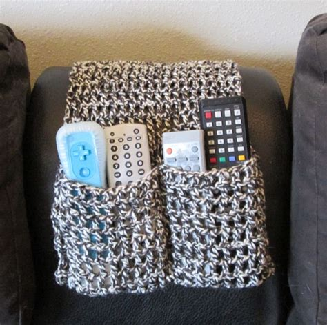 free crochet pattern remote holder crochet remote control holder my crocheted creations for