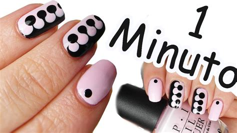 tutorial nail art sendiri nail art tutorial puzzle in 1 minuto 6 youtube
