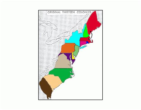 colonie map game 13 colonies quiz purposegames