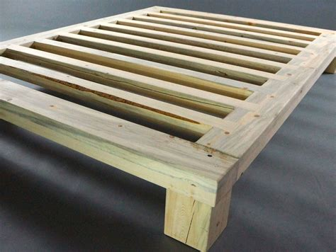 Handmade Platform Beds - handmade beetle kill blue stain platform bed by gerspach
