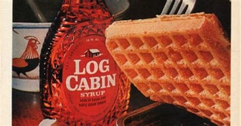 log cabin maple syrup ad real maple flavor vintage magazines maple syrup  log cabins