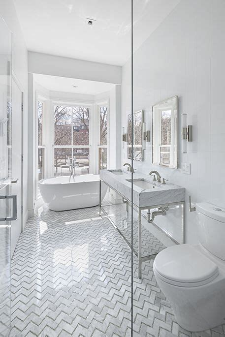 give your bathroom timeless appeal with an all white