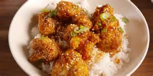 cooking general tso cauliflower video how to general tso cauliflower video
