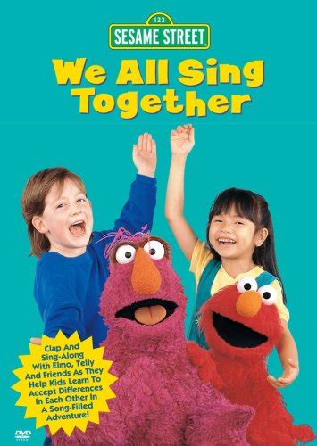 1995 house music hits sesame songs we all sing together vhs 1995 04 18 124 94