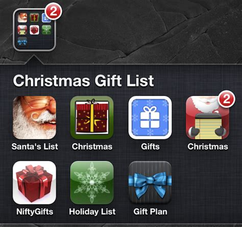 christmas gift shopping list iphone apps appsafari