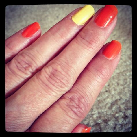 Why One Fingernail Painted Different   finger nail rings quotes