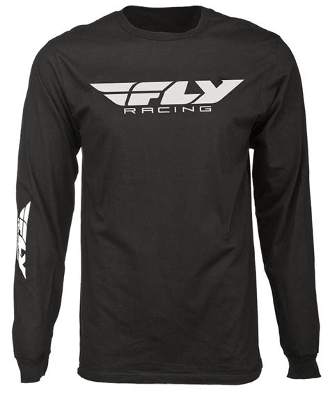 T Shirt 00928 Fly Rider fly racing mens corporate sleeve t shirt ebay