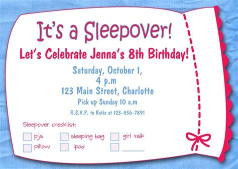 free sleepover birthday invitations printable free printable sleepover birthday invitations