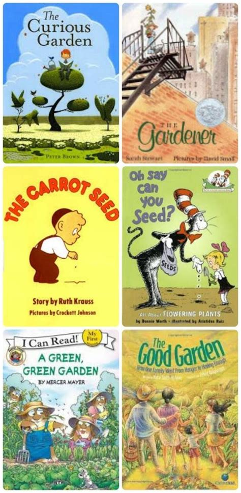 garden books activities for gardening and for on