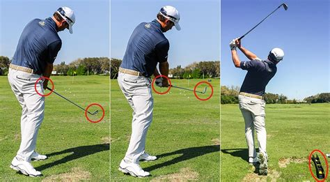 right leg in golf swing the swing that changed everything