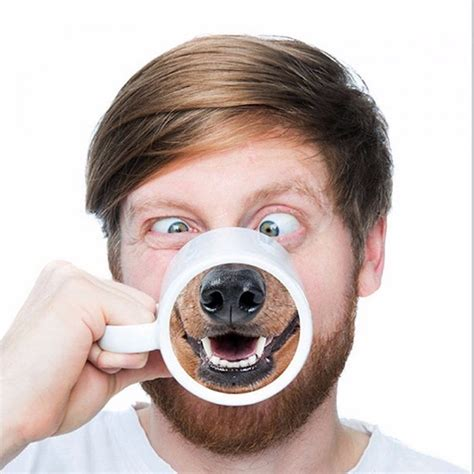 doggy style other kitchen dining bar funny dog nose coffee tea