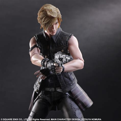 prompto final fantasy final fantasy xv play arts kai prompto square enix