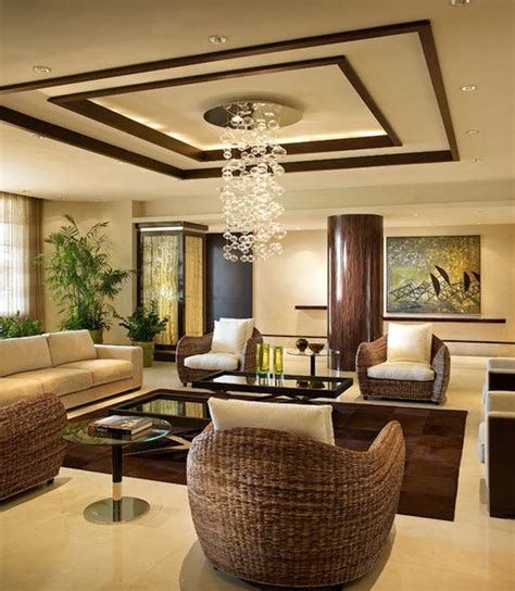 Living Ceiling Design Modern Ceiling Interior Design Ideas