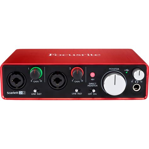 focusrite 2i2 usb audio interface 2i2
