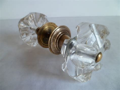 Glass Door Knobs by Vintage Glass Door Knobs From The Soviet Union