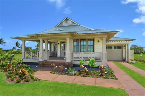 hawaii home designs hawaii plantation home plans kukuiula kauai island