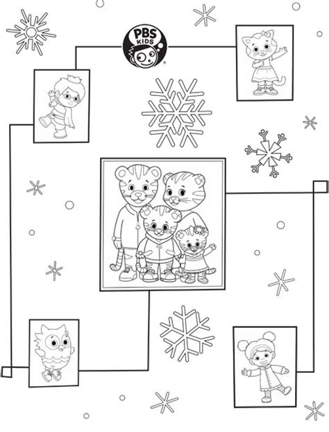 printable coloring pages peg cat daniel tiger wrapping paper happy holidays pbs parents