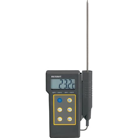 Termometer Mulut thermometer voltcraft dt 300 50 up to 300 176 c sensor type
