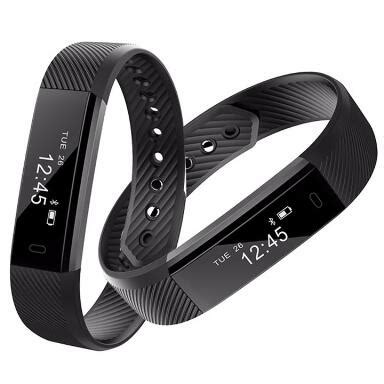 V8 Smart Band Calling Clock With Smar Diskon new smart bracelet id115 smart band fitness tracker clock
