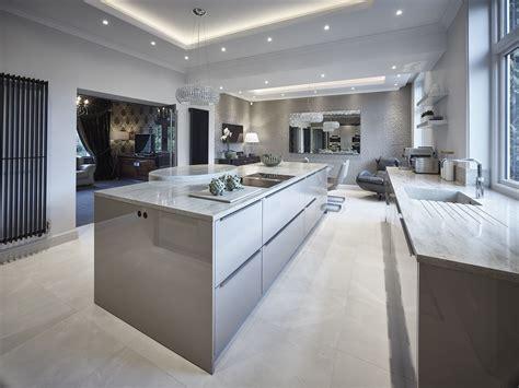 corian finish siematic classic sc40 kitchen in agate grey gloss finish