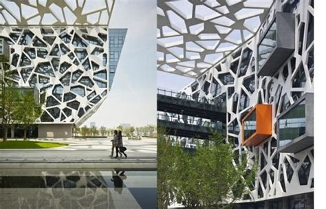 alibaba headquarters alibaba headquarters wrapped in a spiderweb like solar
