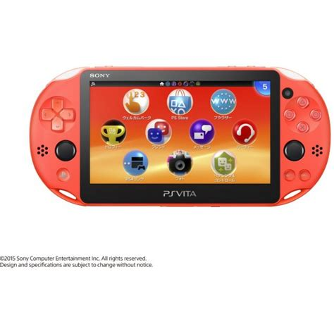 Vita Pch - ps vita playstation vita new slim model pch 2000 neon orange