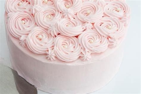 lychee rosette cake cake baking classes  singapore