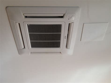 ceiling flush mount ductless air conditioner