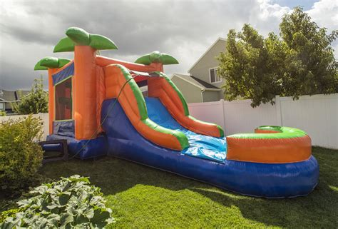 water slide backyard inflatable homely advisor blog homely