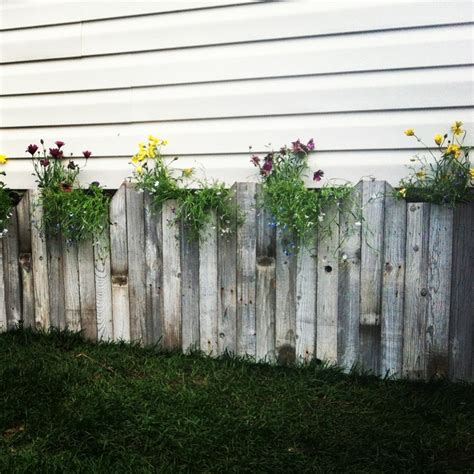 Picket Fence Planter by
