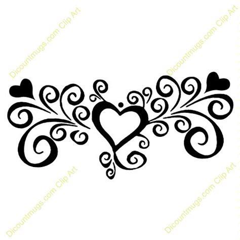 swirl heart clipart google search swirl art