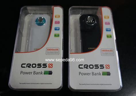 Powerbank Cross toko sepeda98