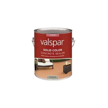valspar solid color concrete sealer valspar 82020 gray solid color concrete sealer 1 gallon